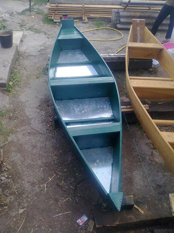 Моторная лодка своими руками из оцинковки 1